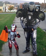 Homemade War Machine Costume