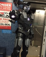War Machine Homemade Costume