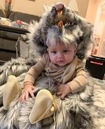 Warrior Princess Baby Homemade Costume