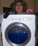 Homemade Washer Costume