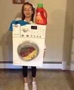 Washing Machine Homemade Costume