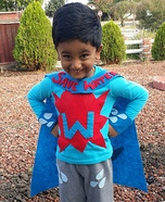 Water-Hero Homemade Costume
