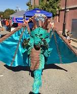 Water Dragon Homemade Costume