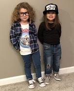 Wayne & Garth Homemade Costume