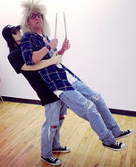 Illusion costume ideas - Wayne's World Illusion Costume