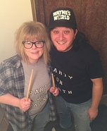 Wayne's World Couple Homemade Costume