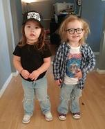 Wayne's World Twins Homemade Costume