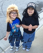 Wayne's World Wayne and Garth Homemade Costume