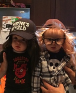 Cute baby costume ideas: Wayne's World Wayne & Garth Homemade Costume