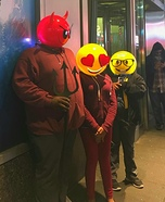 We Are Emoji Homemade Costume