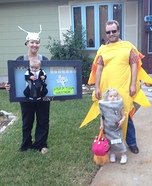 Fun family Halloween costume ideas - Weathercom Homemade Costume
