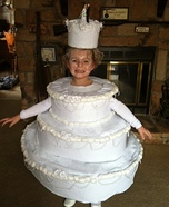 Homemade Wedding Cake Costume