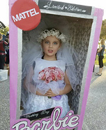 Wedding Day Barbie Homemade Costume