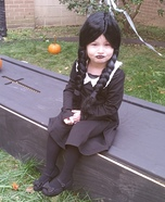 Wednesday Addams Girls Halloween Costume