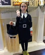 Wednesday Addams Homemade Costume