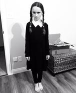 Wednesday Addams Homemade Costume