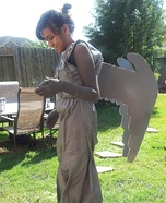 Halloween costume ideas for girls: DIY Weeping Angel Costume