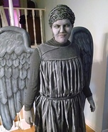 Weeping Angel Homemade Costume
