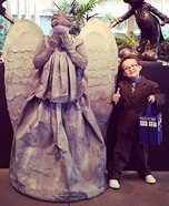 Weeping Angel and the 10th Doctor Costumes