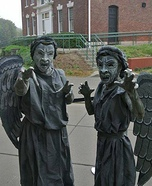 Weeping Angels Homemade Costumes