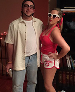 Wendy Peffercorn and Squints Homemade Costume