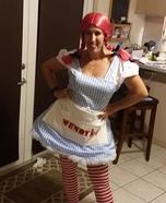 Wendy's Homemade Costume