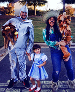 We're off to see the Wizard Homemade Costume