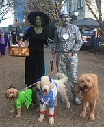 We're off to see the Wizard! Homemade Costume