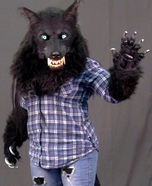 Homemade Werewolf Costume