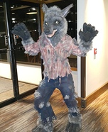 Werewolf Homemade Costume