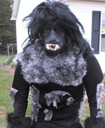 Werewolf Homemade Halloween Costume