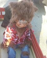 Werewolf Baby Homemade Costume