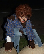 Werewolf Boy Homemade Costume