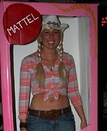 Western Barbie Homemade Costume