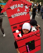 Whac a Snoopy Homemade Costume