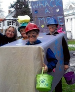Whack-a-Mole Homemade Costume