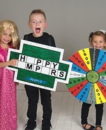 Wheel of Fortune Kids Homemade Costume