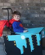 Wheelchair Superman Homemade Costume