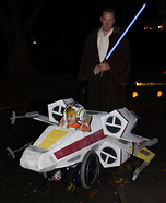 Wheelchair X-wing Homemade Costume