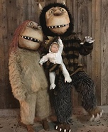 Where The Wild Things Are Family Homemade Costume