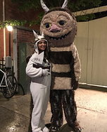 Where the Wild Things Are Max and Carol Homemade Costume