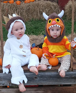 Where the Wild Things Are Twins Costume