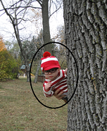 Homemade Waldo Costume