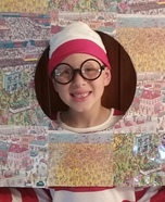 Where's Waldo Homemade Costume