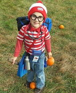 Where's Waldo? Homemade Costume