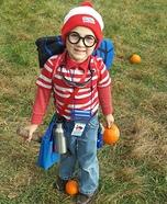Where's Waldo? Homemade Costume