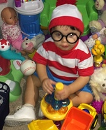 Where's Waldo? Baby Costume