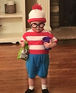 Where's Waldo Baby Costume