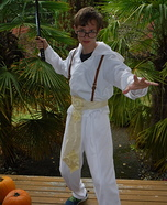 White Sand Sandmaster Homemade Costume