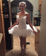White Swan Homemade Costume